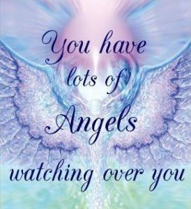 Angels Looking Over You!