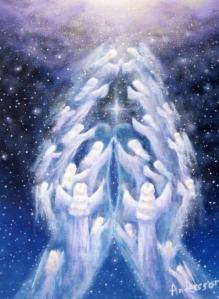 Angelic Prayer Hands
