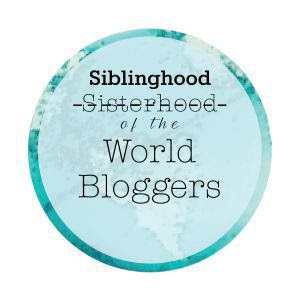 Siblinghood World Bloggers Award