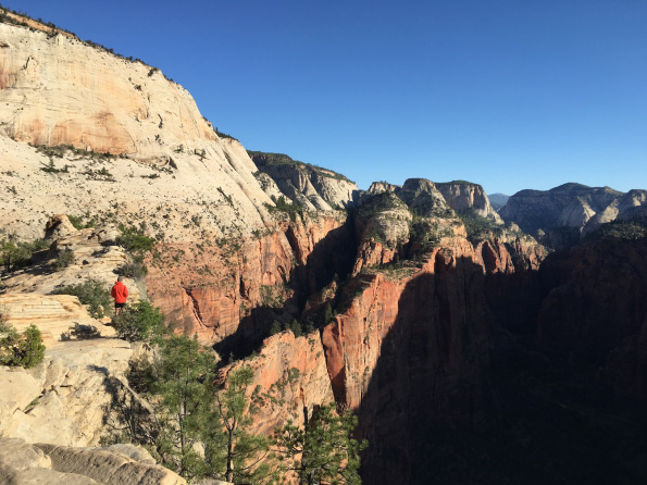 Angels Landing, Walk, Zion National Park