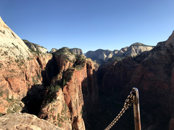 Angels Landing hike, Zion National Park