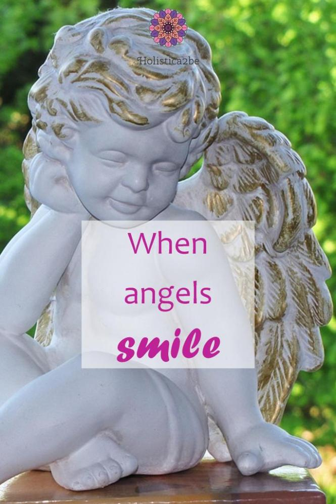 When angels smile